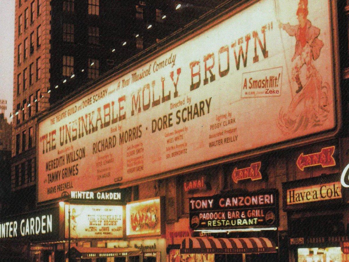 Bertrand Fraysse On Twitter Broadway 39 Winter Garden