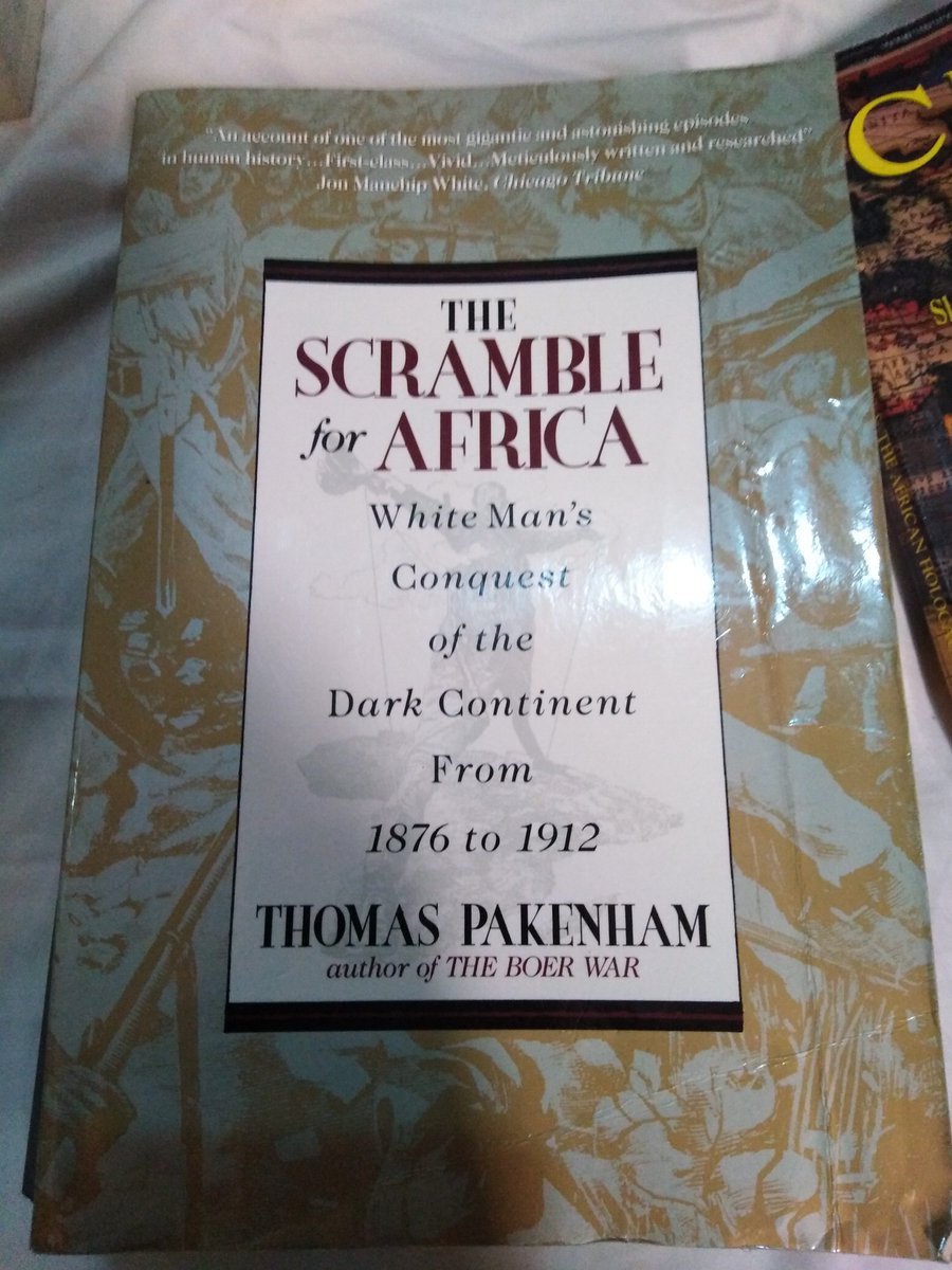 The Scramble for Africa. Whiteman conquest of the Dark Continent from 1876  to
