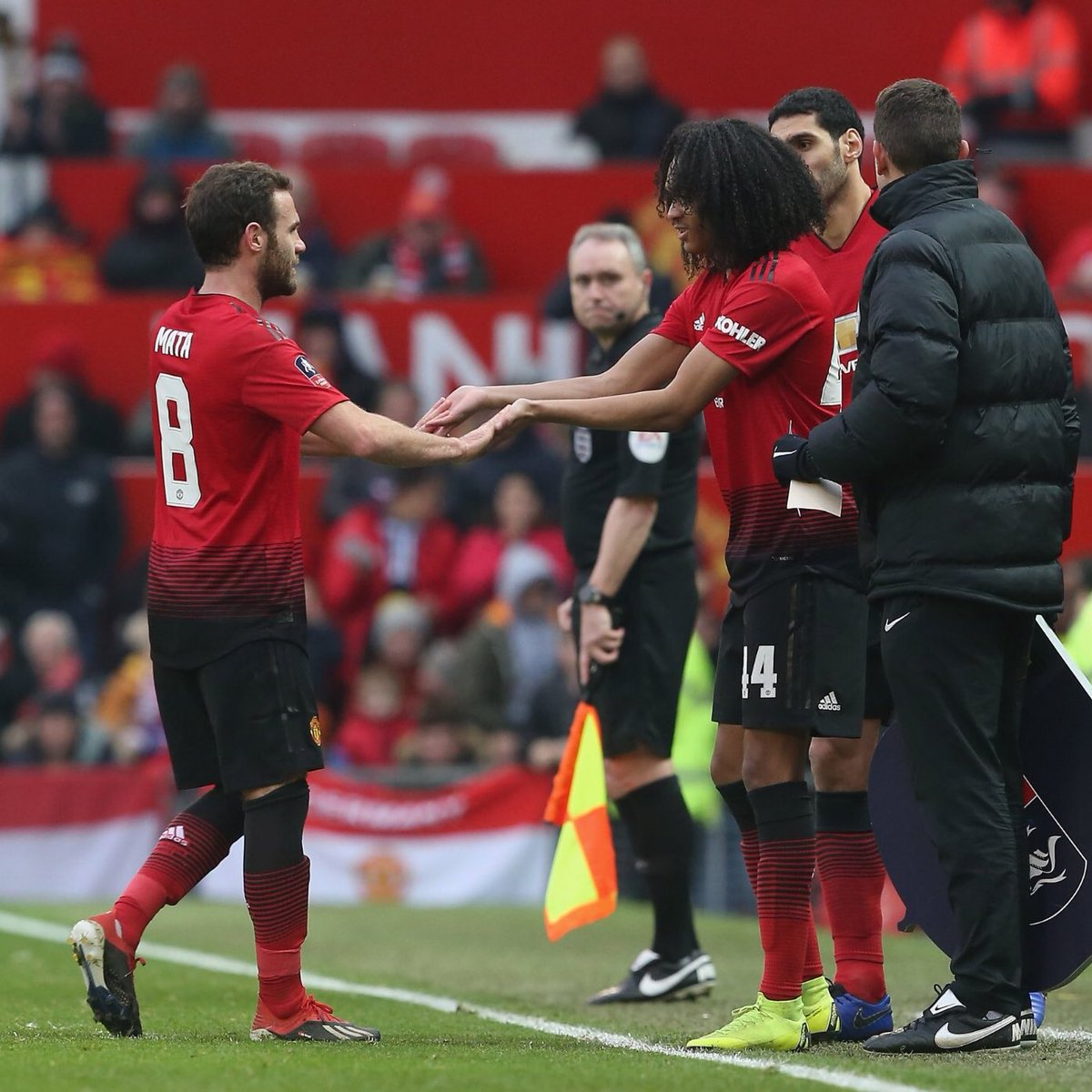 Proud moment making my @ManUtd debut at Old Trafford. Dream come true! Thanks to my family, teammates, coaches and the fans for the support. It means a lot! 🙏🏾❤️