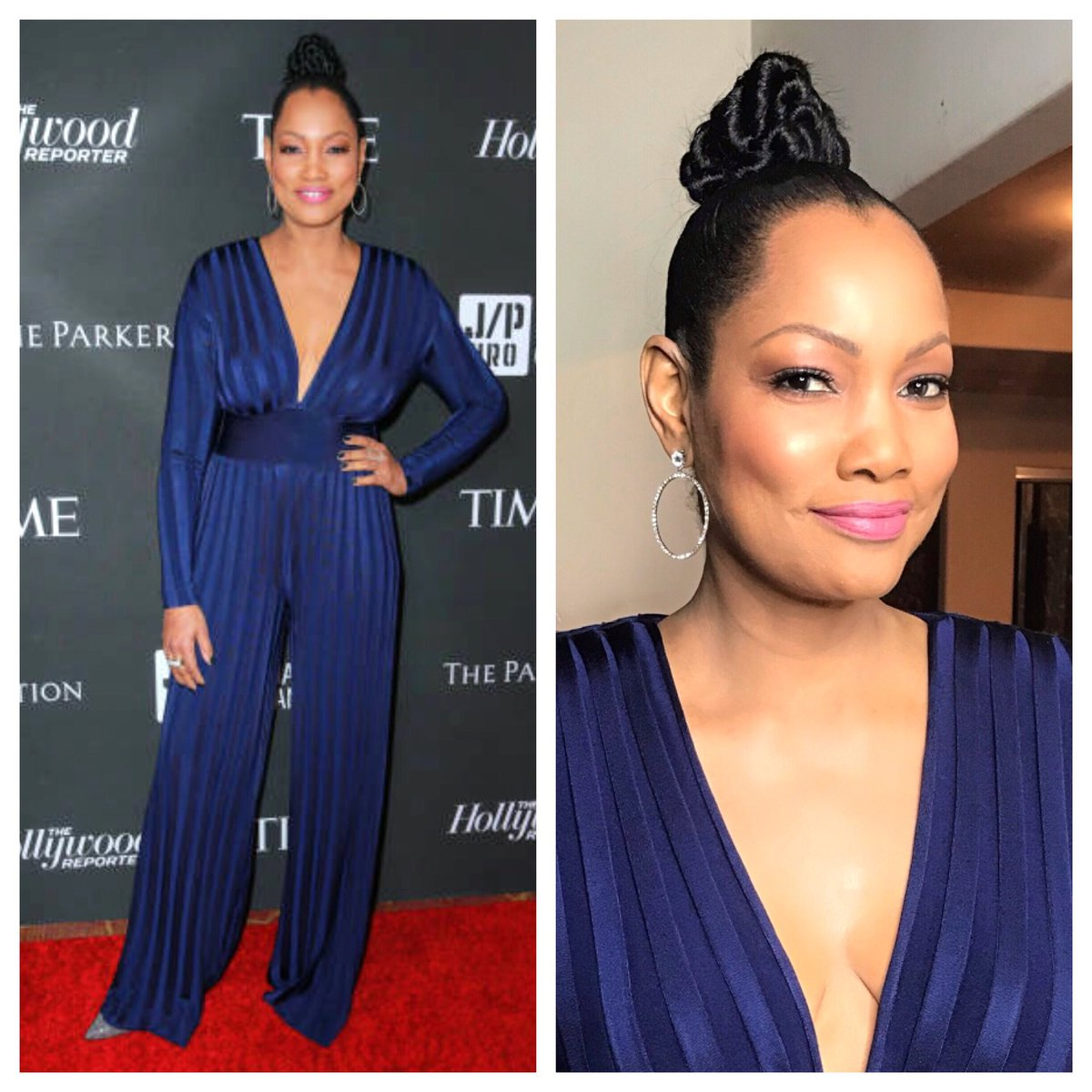 #AboutLastNight Sean Penn event for #Haiti @jphro thx glam @kymmyizabeauty @KeevaHair #topknot