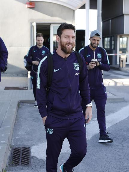 �� The first of many flights our players will be taking in 2019.  #GetafeBarça #ForçaBarça ���� https://t.co/pirrZgwkSk