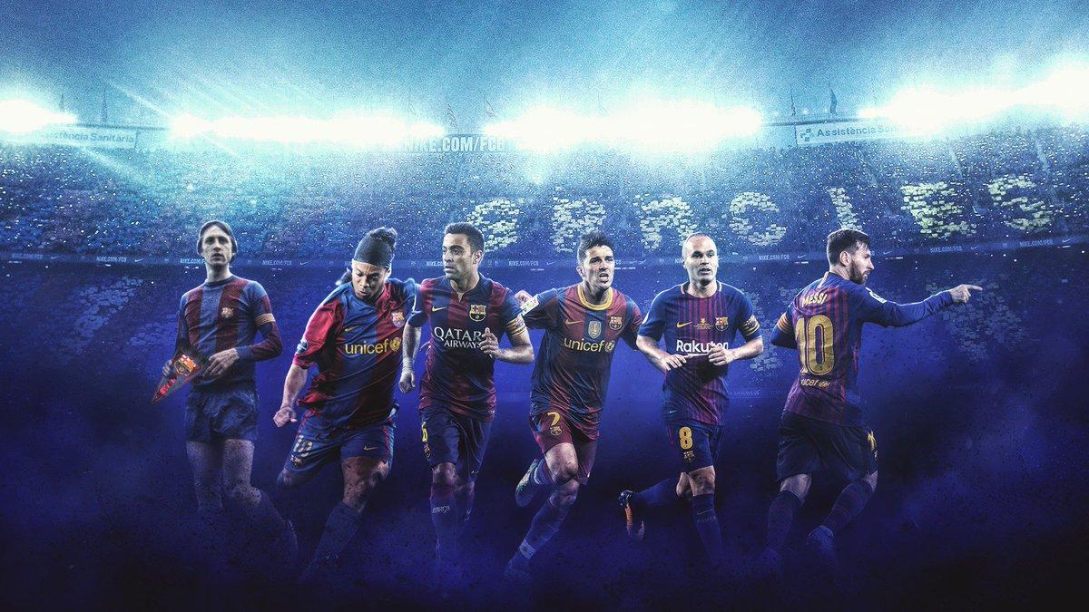 "Adik1910 On Twitter ""Barca Legends On PC Wallpaper RT"