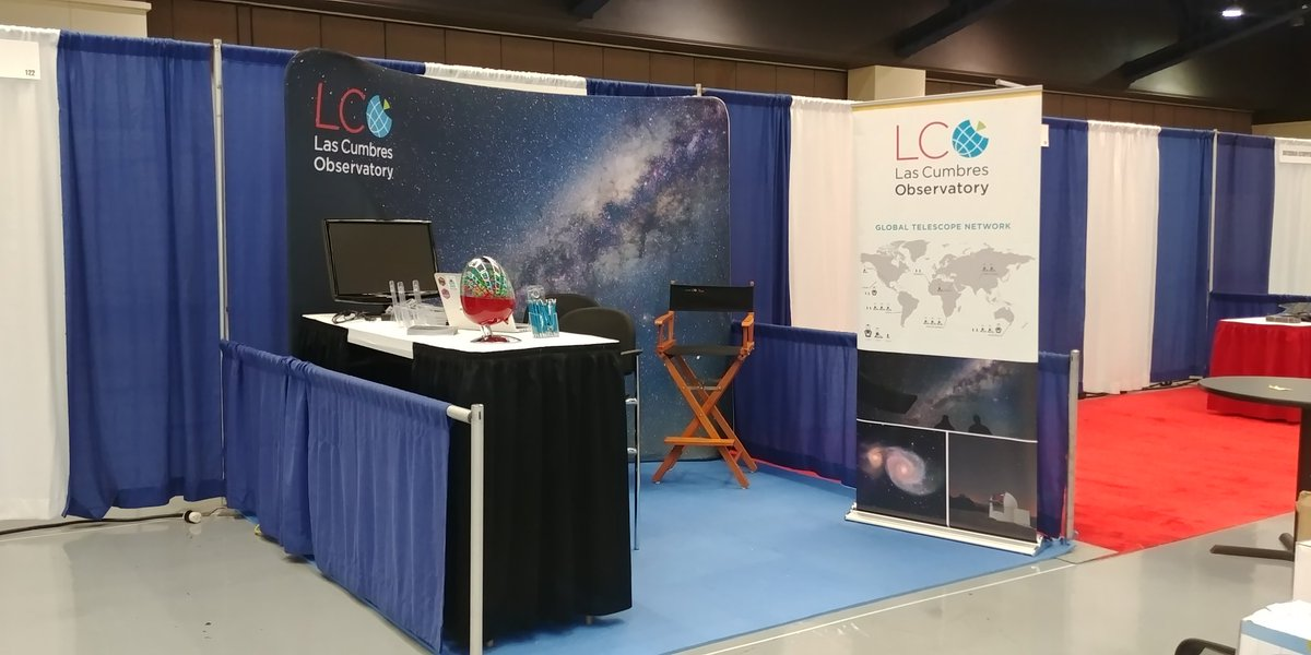 Hello from booth 124 at #AAS233 ! The M&Ms are loaded and were looking forward to a great meeting. Come visit us in the exhibit hall or join us for our splinter session on Monday at 6pm in Room 310. Refreshments provided.