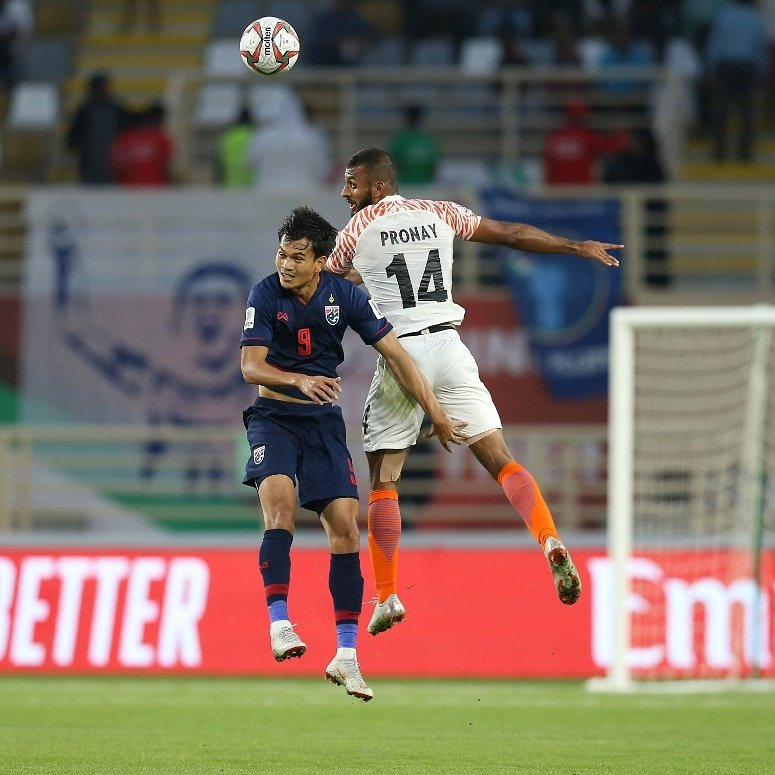 Watch: Video Highlights As India Thrash Thailand On AFC Asian Cup Return 1