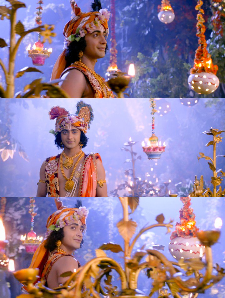 Acting involves expressing your own personality and discovering the character you're playing through your own experience 🌸❣️ @Beatking_Sumedh is such a Phenomenal Actor!  His expressions, his eyes, his looks💫 BREATHTAKING 💘