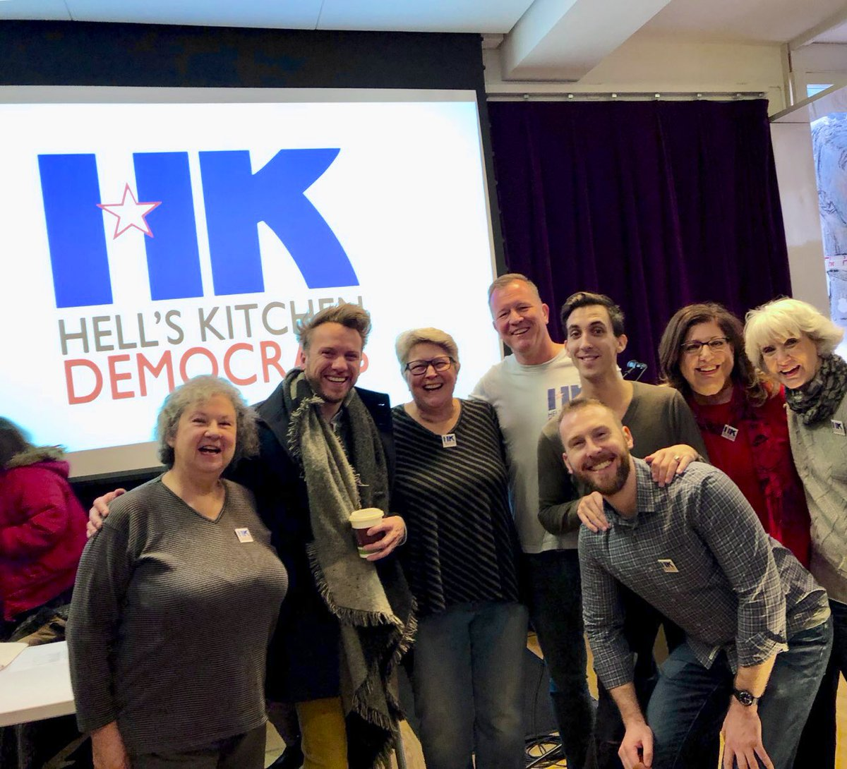 Excited to represent Hell's Kitchen at the #publicadvocate forum! #hkdems #nycpolitics