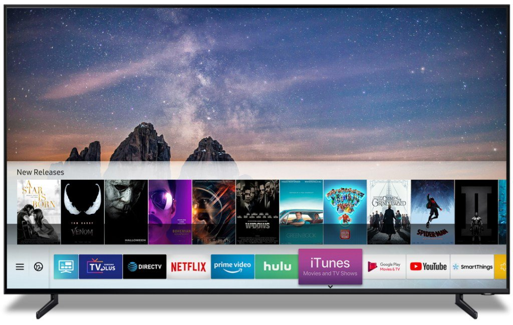 Apple is bring iTunes content to Samsung's Smart TVs by @sarahintampa