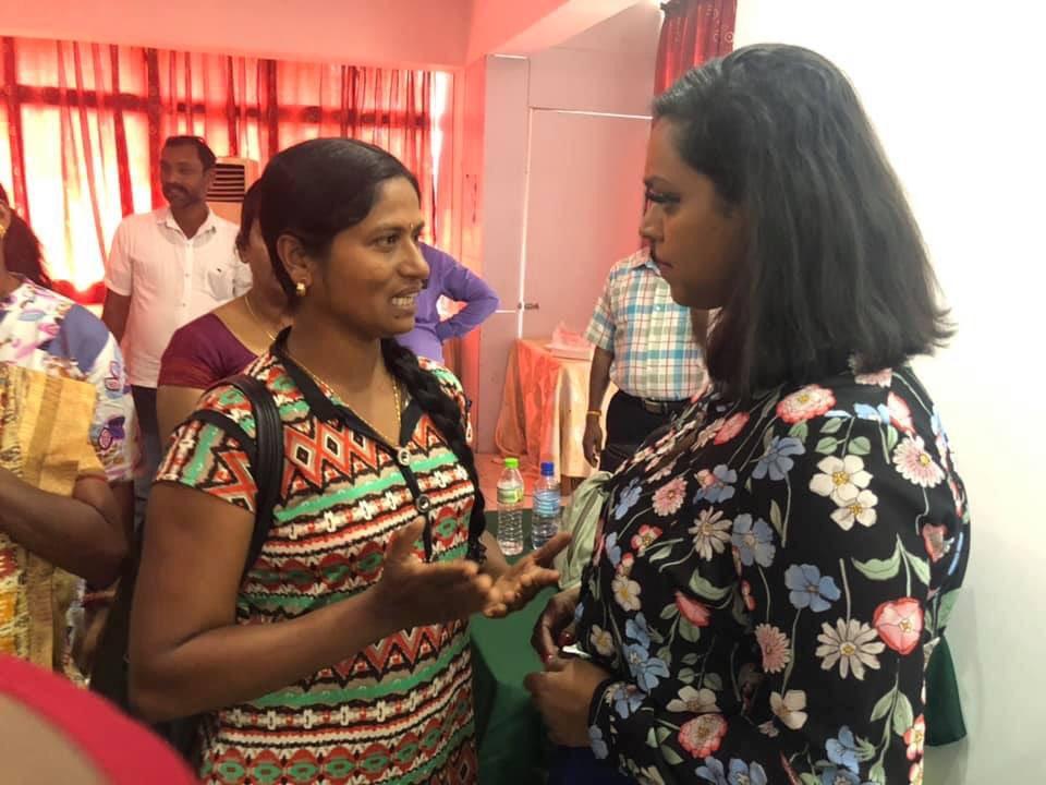 """கரிகாலன் garikaalan on Twitter: """"#SriLankan #Tamil origin Deputy Mayor of  Oslo Kamzy Gunaratnam who is currently on a official visit,met grass-root  woman organizations,local women political representatives & women headed  families across N&E ..."""