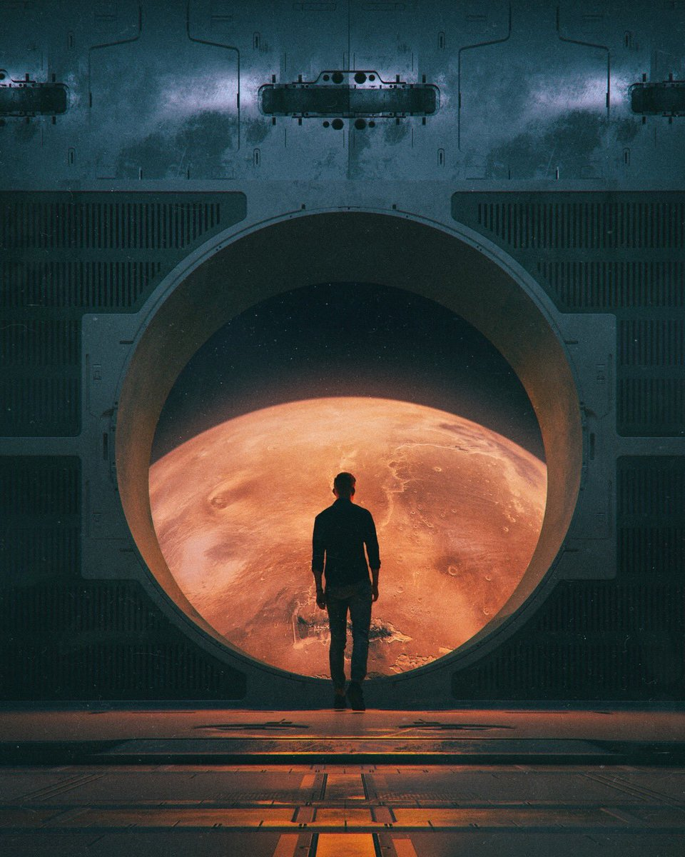 One day, we will be there..  (Art by beeple)
