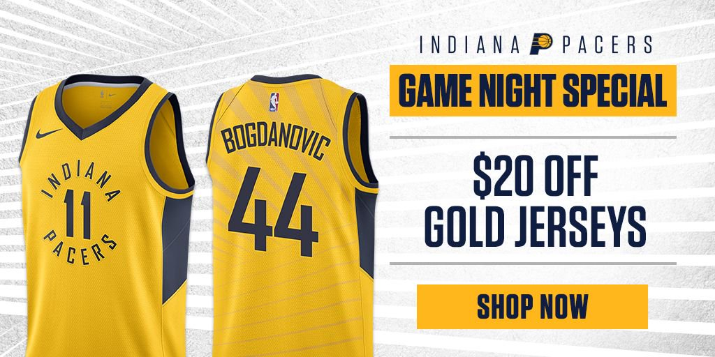san francisco 8e4f7 e1f17 Pacers Team Store on Twitter: