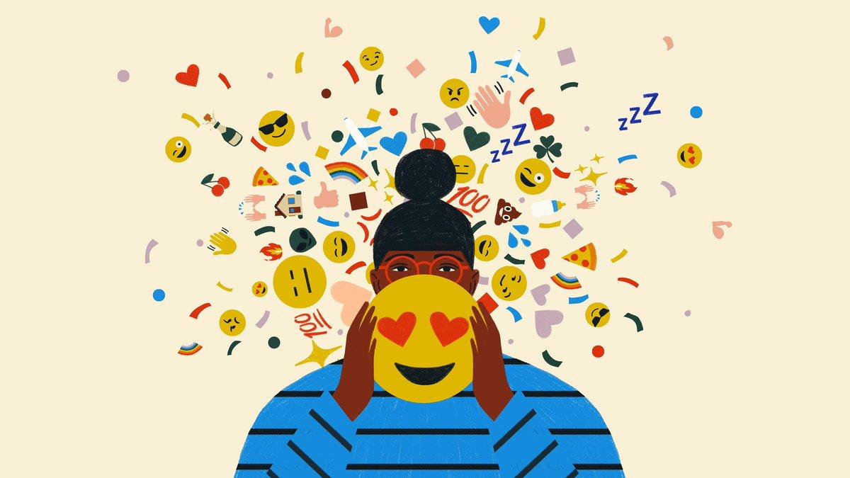 Here's my year in emoji: #HappyNewYear #MyEmojiYear 🥳