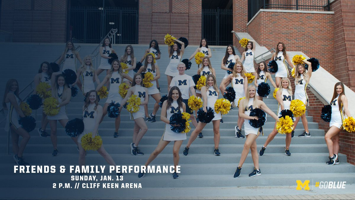 RT @UMichDance: One week!  #GoBlue〽️ https://t.co/tohEw9BZ7K