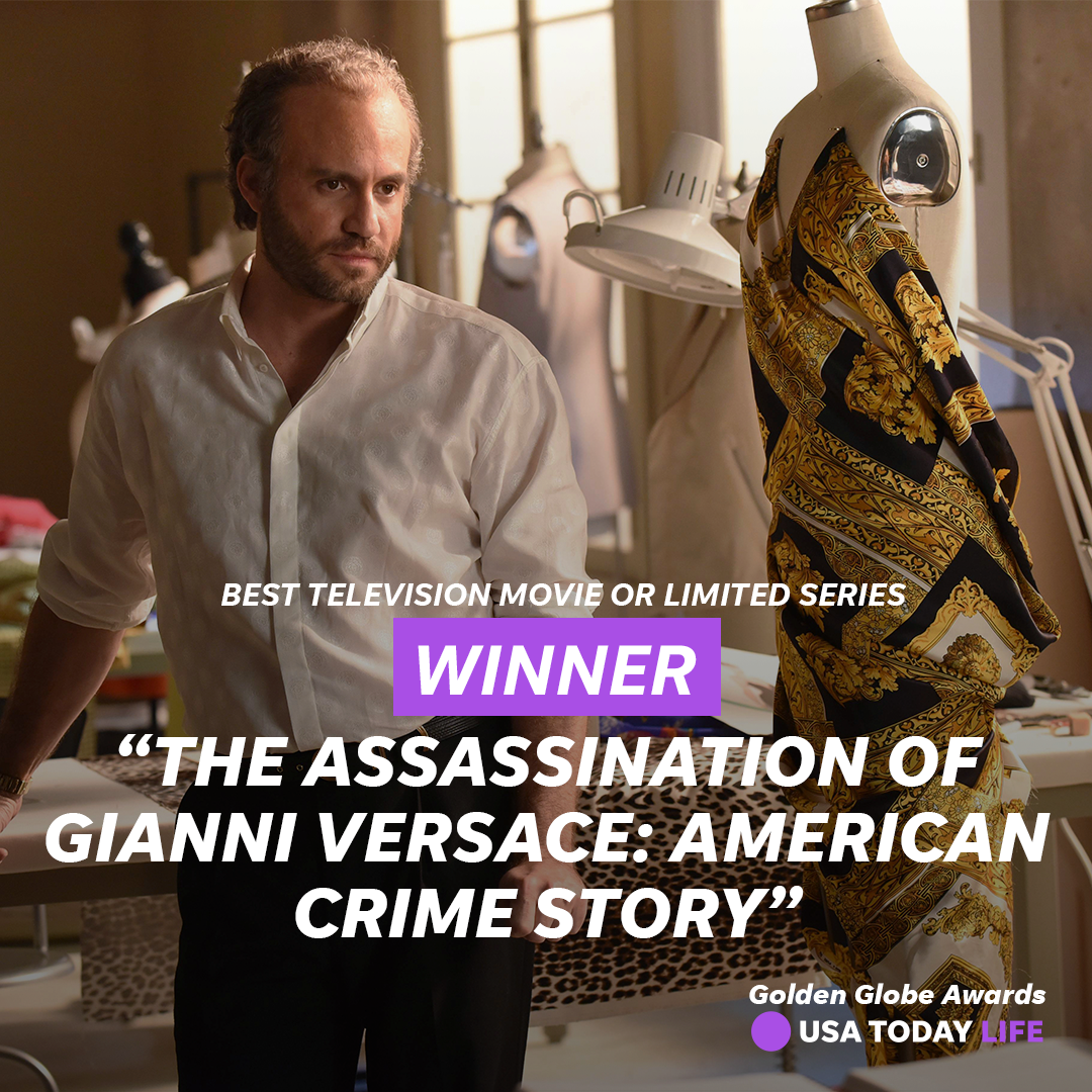 #ACSVersace wins best TV movie or limited series! https://t.co/4SfPiGn7PH #GoldenGlobes