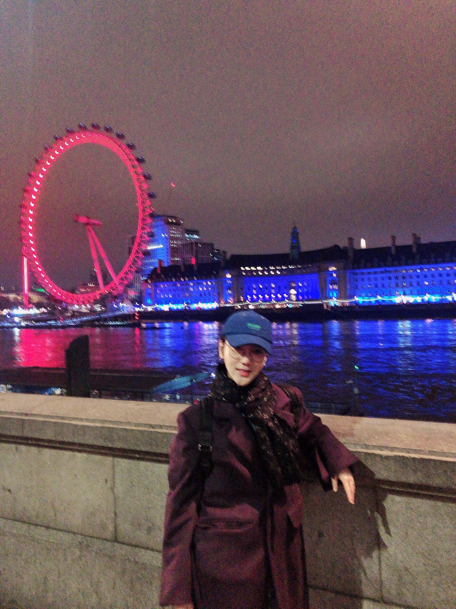 Thames River , Tower Bridge , Tate Modern , Millennium Bridge , Saint Paul's Cathedral , Big Ben �������������� https://t.co/oyesfQF42T