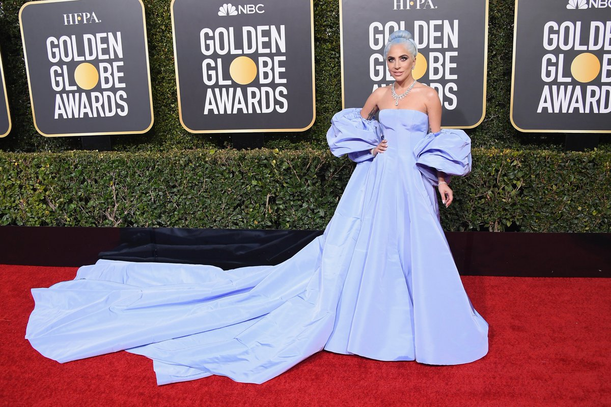 Us: We couldn't possibly love Lady Gaga any more than we do already. #GoldenGlobes  Lady Gaga: