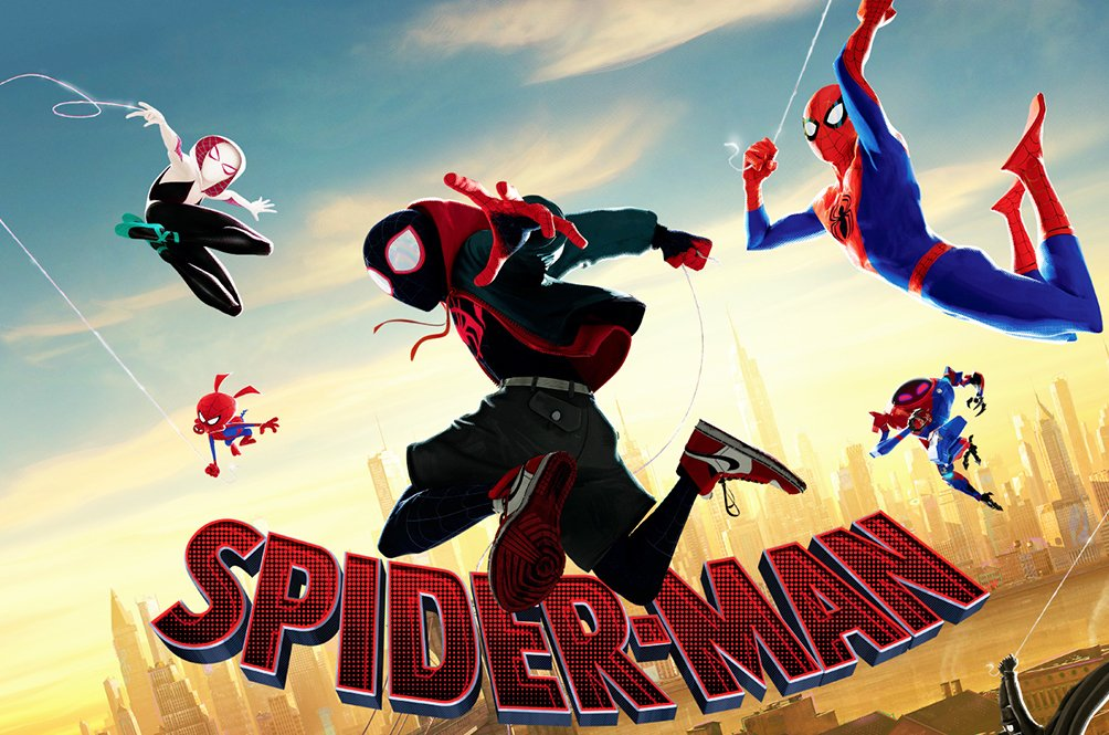WINNER! Spider-Man: Into the Spider-Verse — Best Animated Feature Film | #GoldenGlobes | https://t.co/i5h8nY63NR