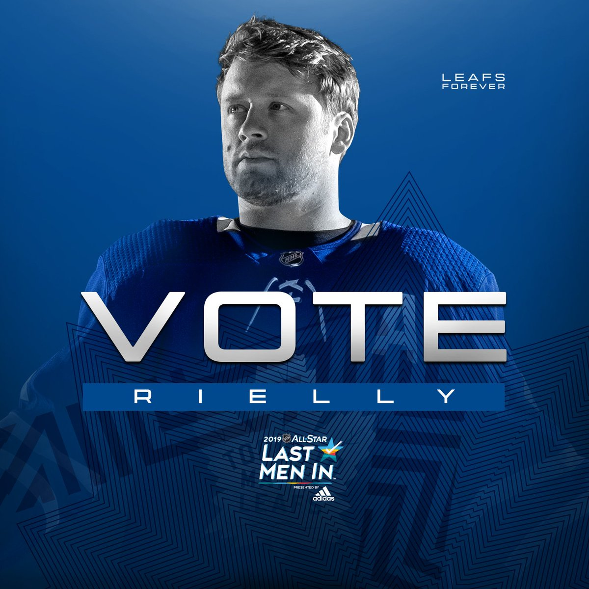 Help Mo go to #NHLAllStar Weekend!  Get today's 10 votes in now and make sure to cast your ballots every day through January 10 >> http://nhl.com/vote  #LeafsForever