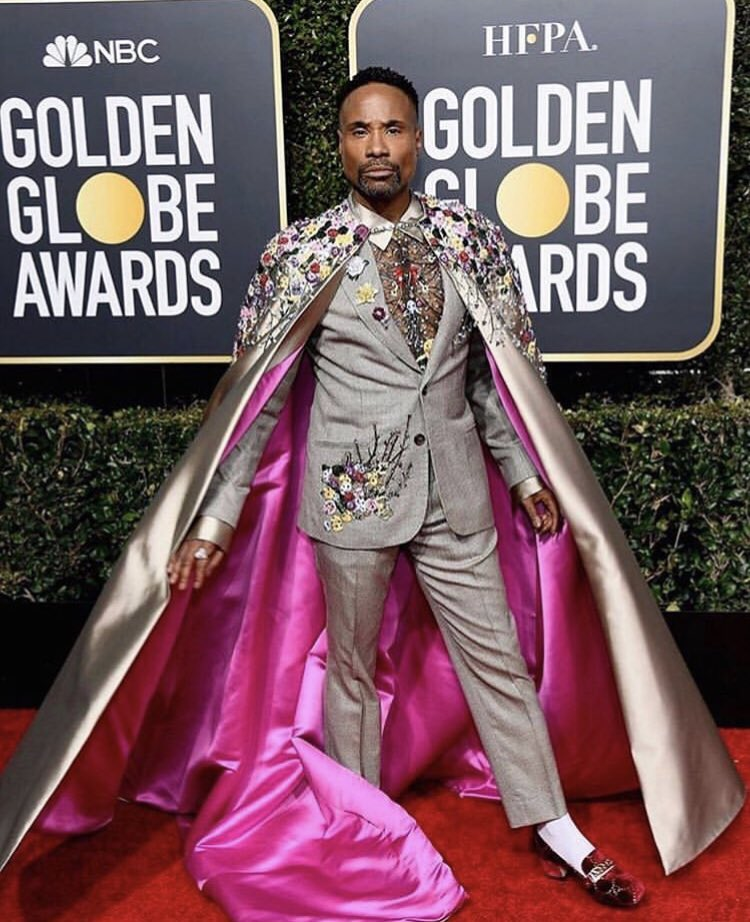 @theebillyporter did NOT come to PLAY with y'all! We see you King 👑 #PoseFX #GoldenGlobes