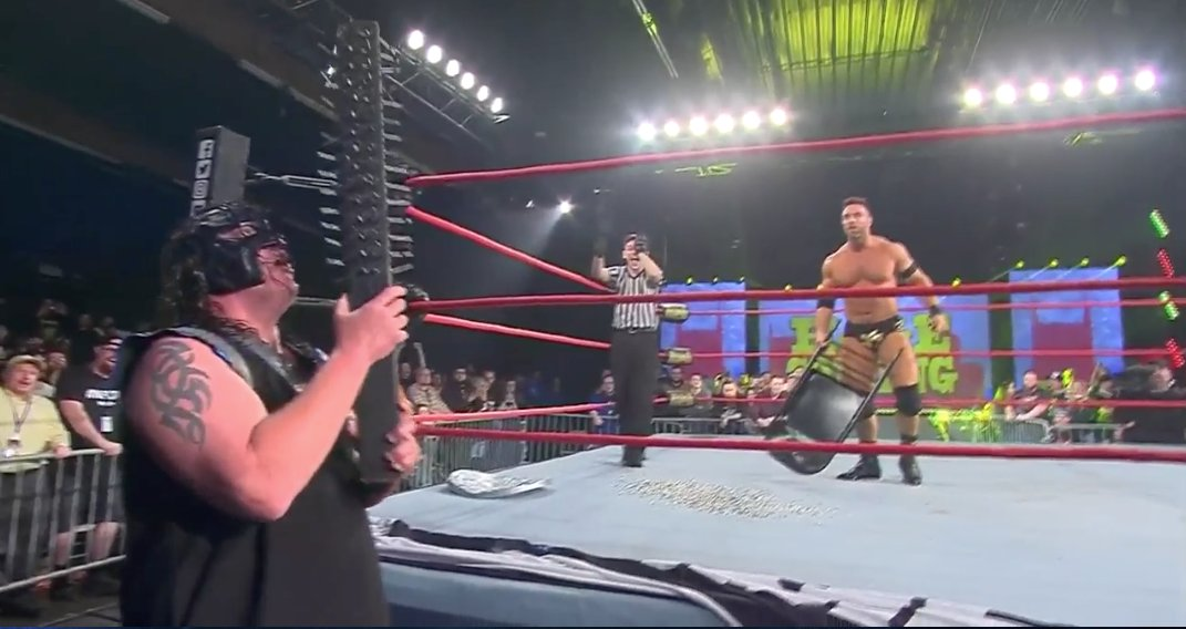 Muscle wrestle and nail