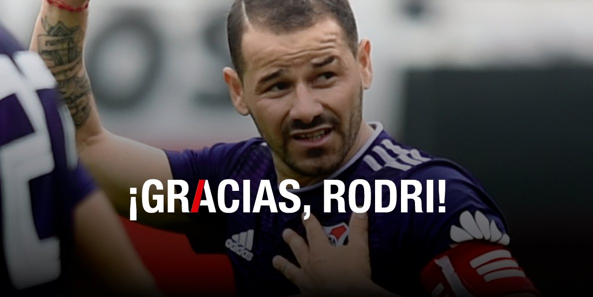 Llegó desde Uruguay en 2012 y, a fuerza de goles, sacrificio, compromiso y títulos, se metió en el corazón de todos los hinchas de River.  ¡Gracias por todo y hasta siempre, @romorita11!