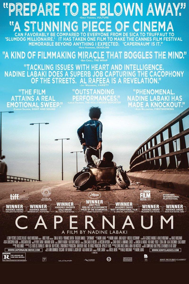 #NadineLabaki's Lebanese drama #Capernaum edged out by #GoldenGlobes favorite #Roma https://t.co/pcarX1fIQ6