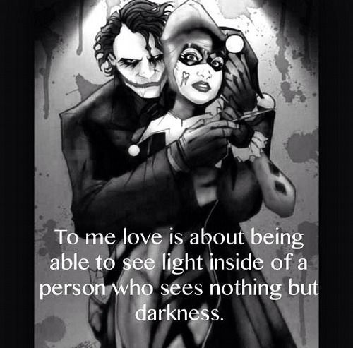 hover me on crazy love quotes joker t co