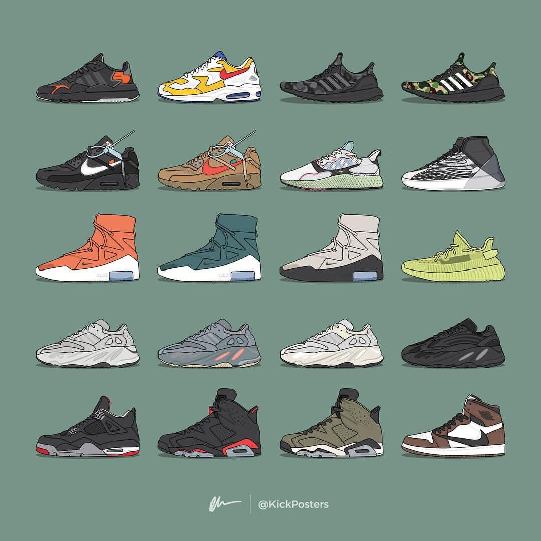 2019年リリース予定のスニーカーたち👟YEEZYのバッシュとAir FOGライトボーンは狙いたい🤫 #kicks #sneakers #street #streetstyle #streetwear #streetfashion #足元倶楽部 #足元くら部 #Nike #adidas