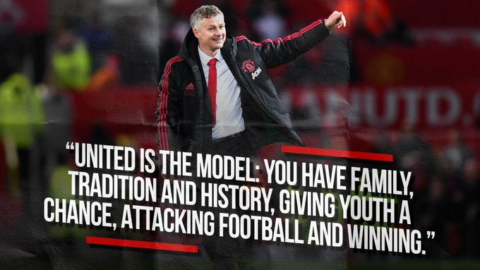 This just gets better the more you read it. #MondayMotivation #MUFC Photo