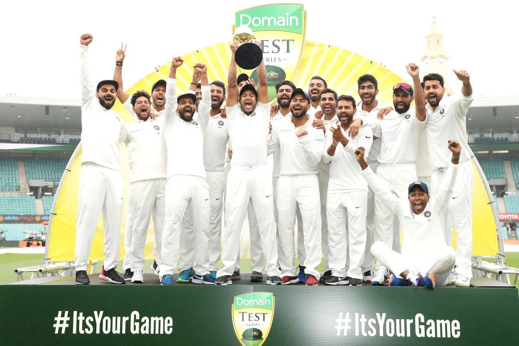 Kohli's men became the first Indian team to win a series on Australian soil