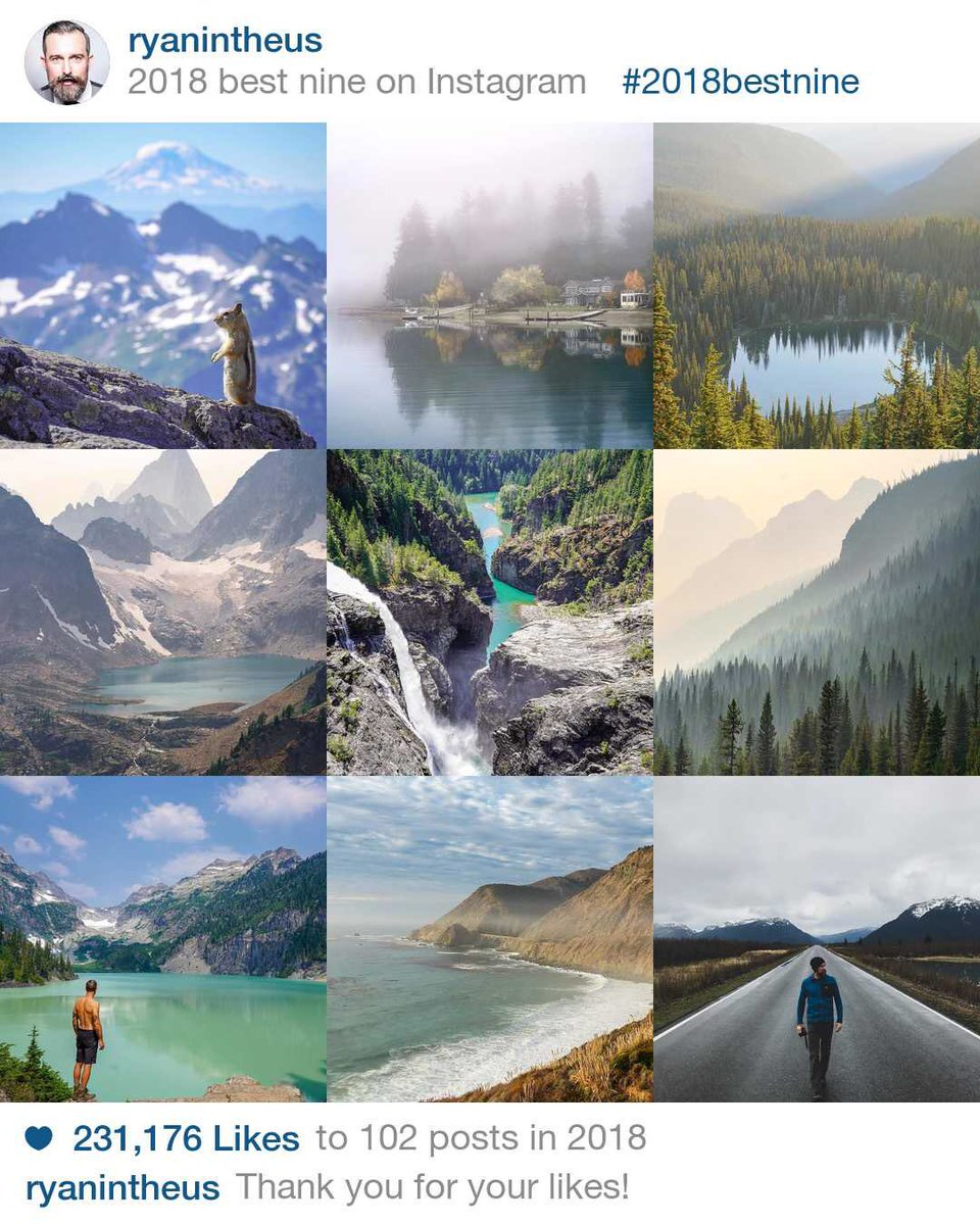 So blessed to get to go to amazing places and follow my passion for photography and to share my thoughts on life inspired by nature. If you're into that kind of thing... https://www.instagram.com/ryanintheus  #travel #nature #adventure #photography  #instagram #2018bestnine pic.twitter.com/IBOU9QJ0M4