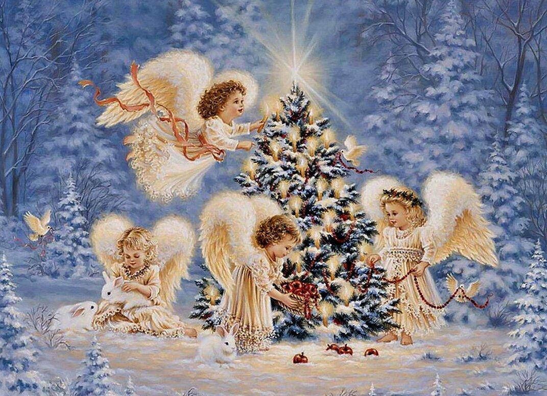Фото открытки рождественские