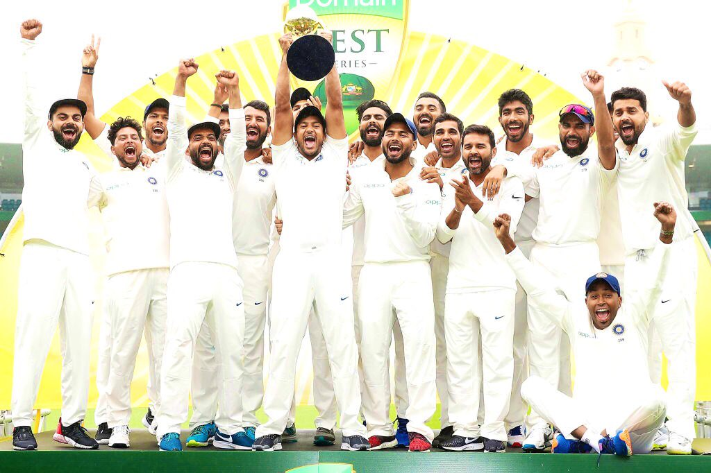 1983 - was big 1985 - was big  2019 - is as big if not the biggest as it has come in the toughest format. Salute you Virat and boys for making this happen 🙏🇮🇳 #AusvInd