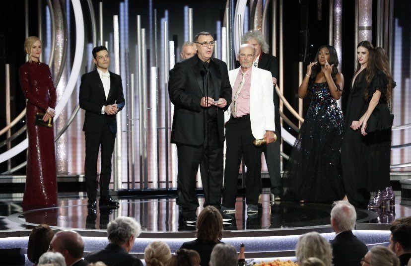 """Congratulations to producer Graham King on winning the Golden Globe for Best Motion Picture Drama with """"Bohemian Rhapsody"""" 🕺🏻🏆"""