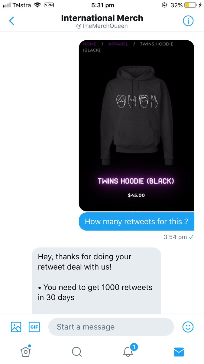 3f2de972309 1000 retweets to get this. Please make this happen everyone I love you all   TheMerchQueenpic.twitter.com zXK2mEYyEm
