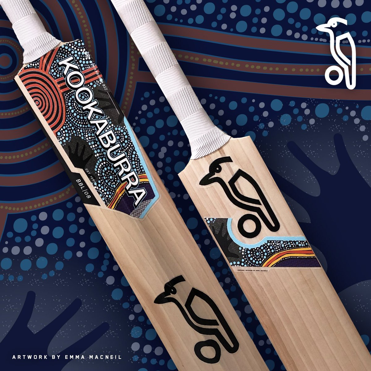 This Is A One Off Bat Designed To Promote Indigenous Cricket And Help Dan S Campaign For Bbl Round Next Season Foxcricket