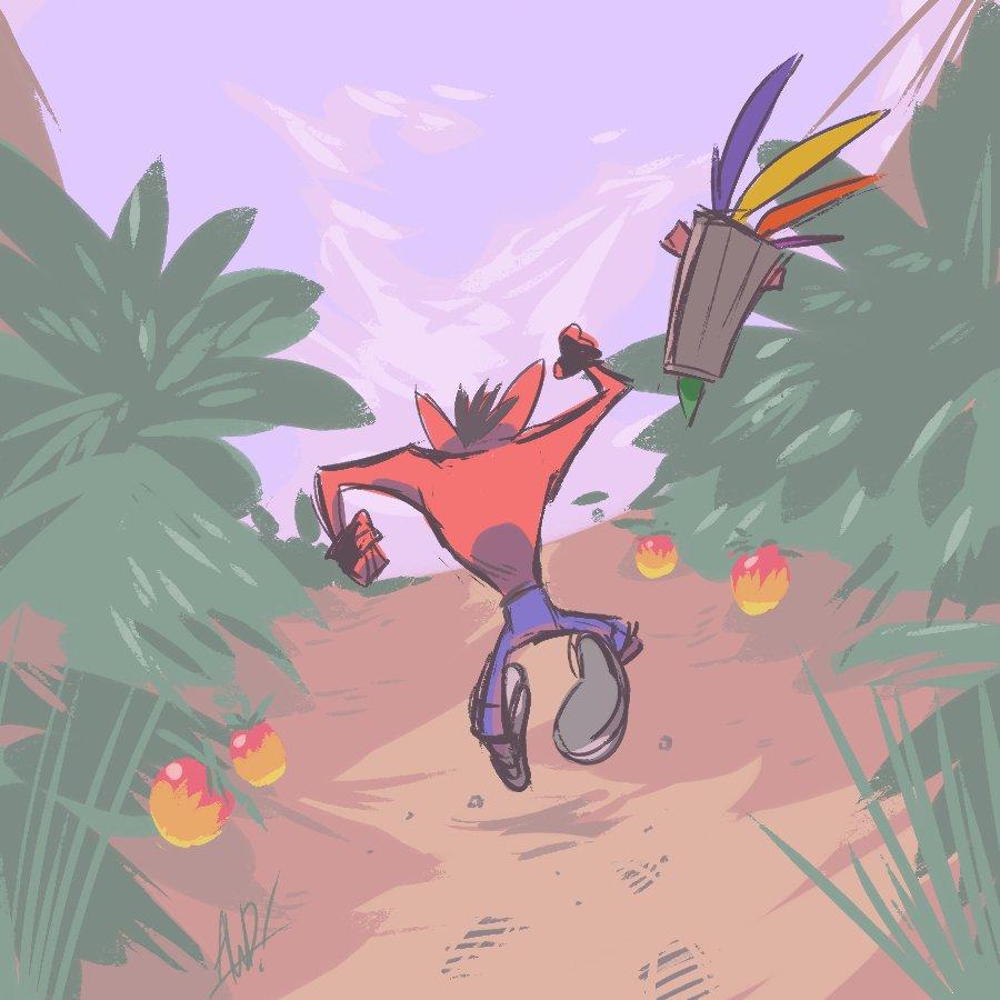 Crash Bandicoot: The N Sane Trilogy #AGDQ2019 @GamesDoneQuick #GamesDrawnQuick <br>http://pic.twitter.com/v7DLDbDccS