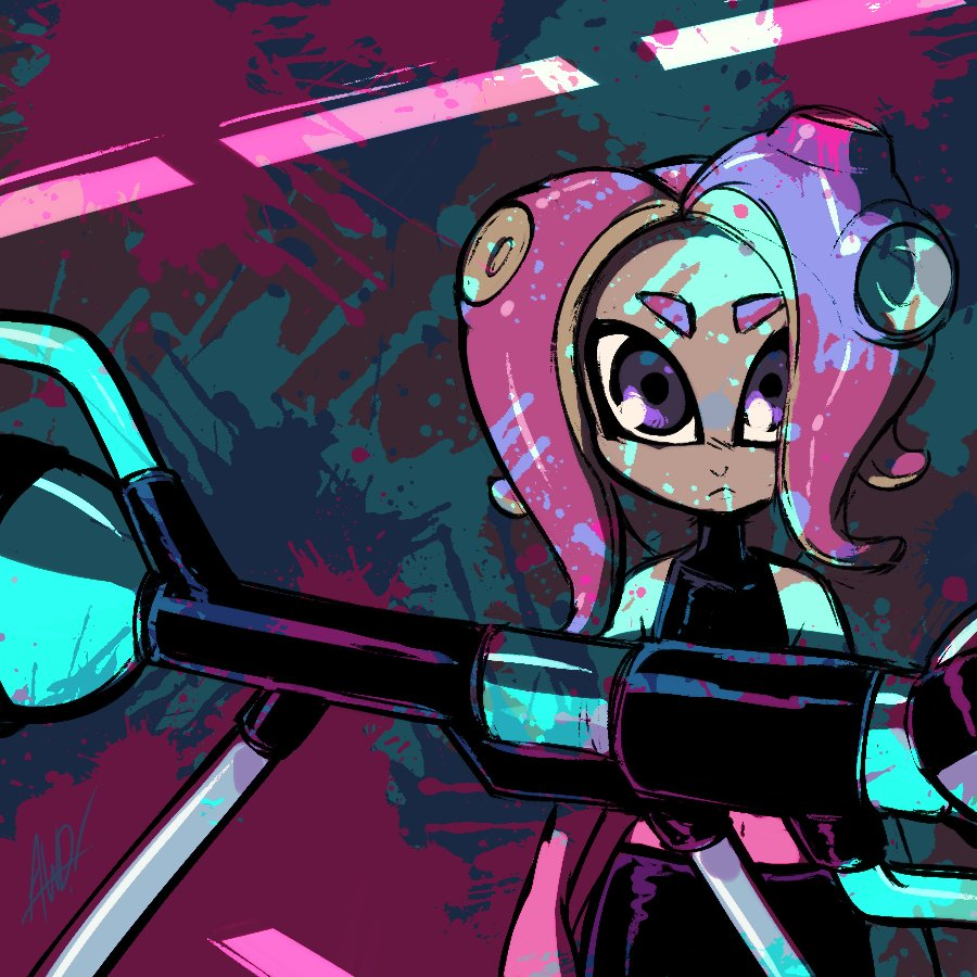 Splatoon 2: Octo Expansion #AGDQ2019 @GamesDoneQuick #GamesDrawnQuick <br>http://pic.twitter.com/pVNCGezwL2