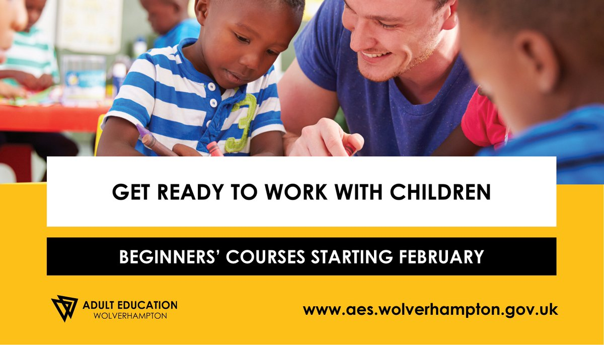 courses for working with children