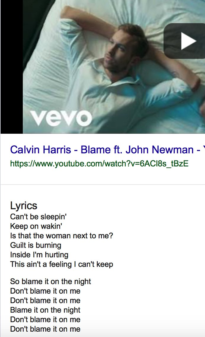 HOW HAVE I NEVER REALIZED THIS. CALVIN HARRIS WROTE A SONG CALLED &#39;BLAME&#39; IN 2014. READ THE LYRICS. I AM MIND BLOWN. #TaylorSwift #rep #repTourNetflix #dontblameme<br>http://pic.twitter.com/weiQZrSjCW