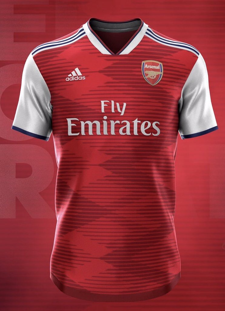 d8381bc075e Arsenal's 2019/20 adidas leaked Home and Away Kit, via  @CalArsenalpic.twitter.com/tQTo3gEYJ0