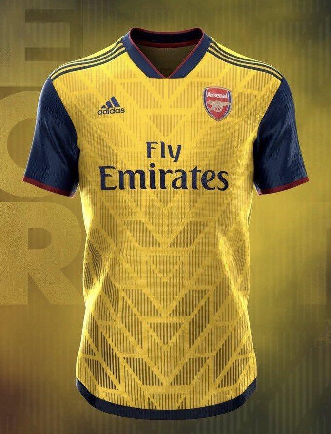 Aftv On Twitter Arsenal S 2019 20 Adidas Leaked Home And Away Kit Via Calarsenal