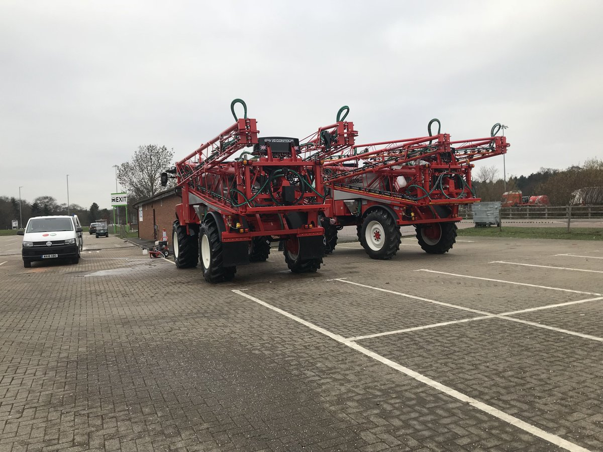 We're ready and waiting for you at @thenec #Birmingham, with our @LAMMAShow stand prepped and featuring our RB35 and RB55 in all their (shiny) glory!  #CropSprayers #CropProtection #LAMMA19
