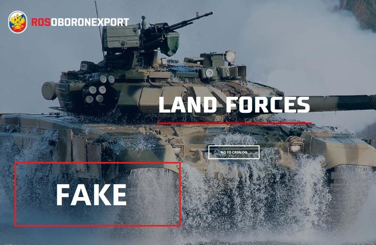Rosoboronexport الحكوميه الروسيه تنشر صور مزيفه لدبابات T-90 على موقعها الرسمي  DwTUpjWXgAEw17O
