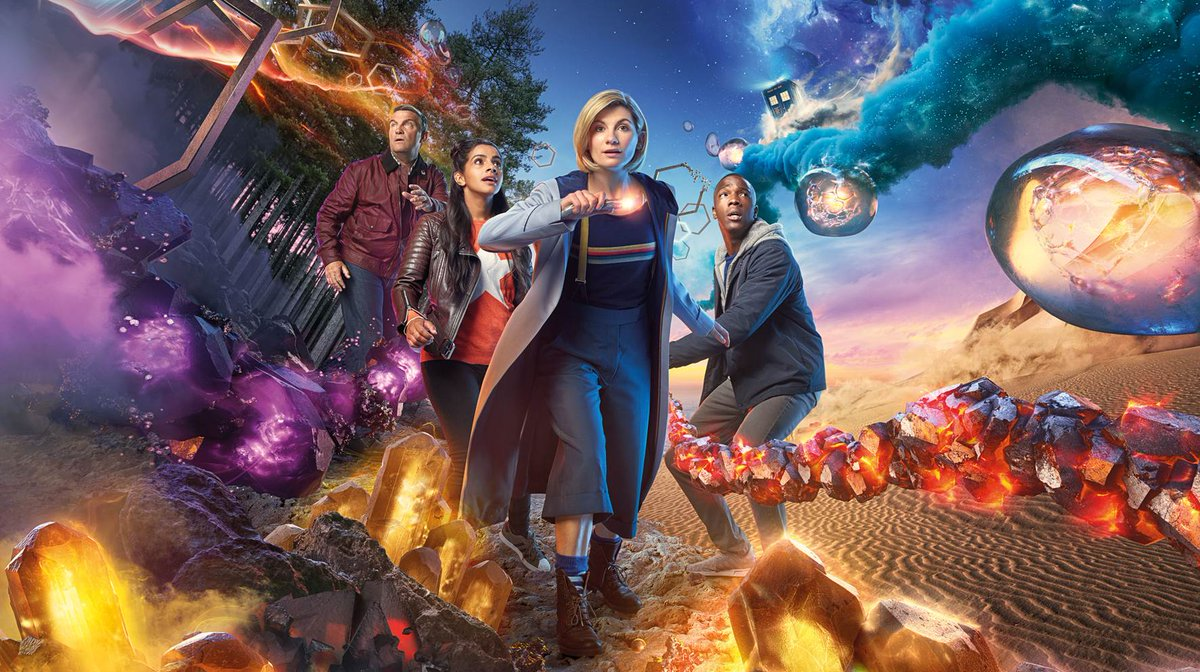 #DoctorWho is shortlisted for the 2019 #NTAs in the Drama category.