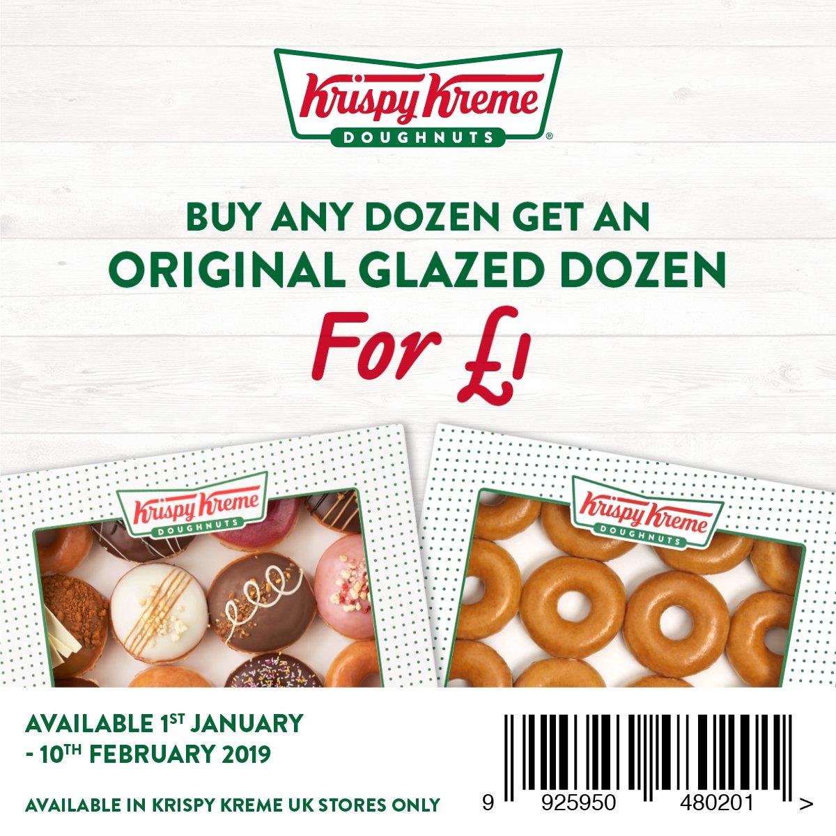 Active Krispy Kreme Vouchers & Discount Codes for June 12222