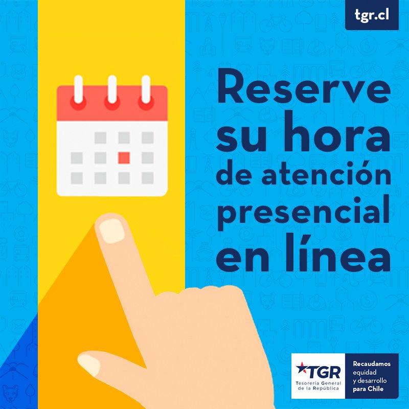 Tesorería Chile S Tweet Ahorra Tiempo Reserva Tu Hora