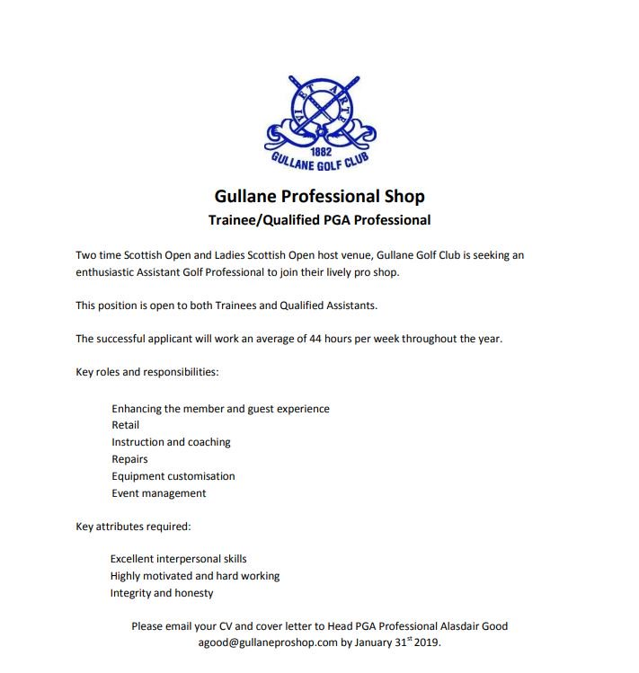assistant golf professional cover letter - Atlas ...