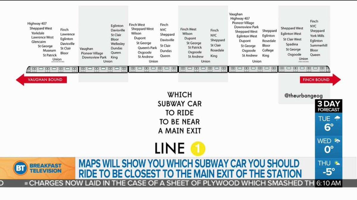 Man Looking At Subway Map.Breakfast Television Toronto On Twitter Toronto Man Creates Map Of