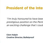 We welcome in 2019 with some exciting news. Our London Creative Director, @clemhalpin has been hand picked for the prestigious role of President of the @PENTAWARDS International Jury 2019. https://t.co/xU2NHqoyvp #packagingdesign #awards #pentawards2019