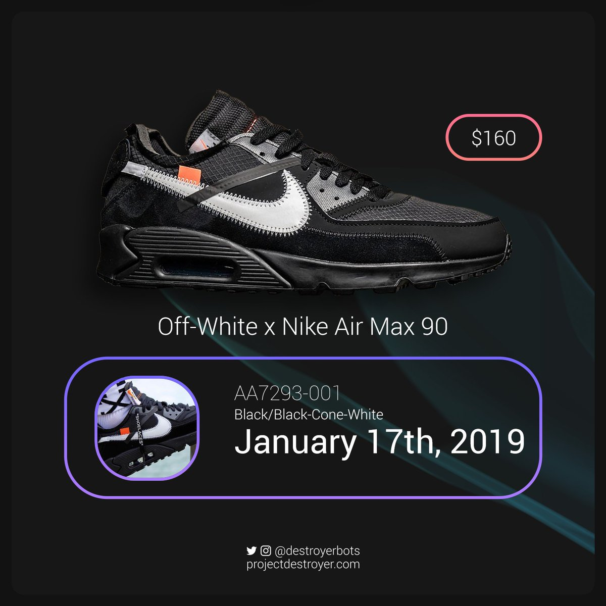 Off White goes Off Black as Nike ready release of new Air